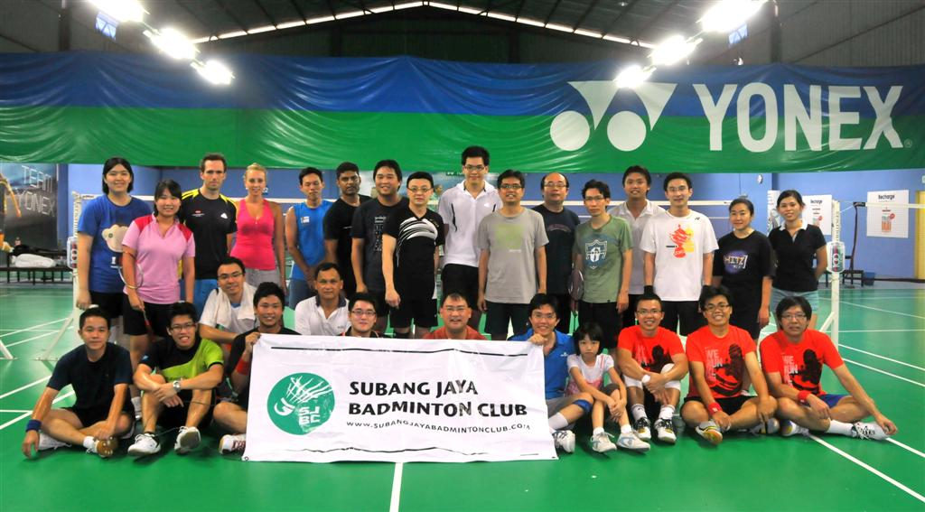 Subang Jaya Badminton Club Team Photo