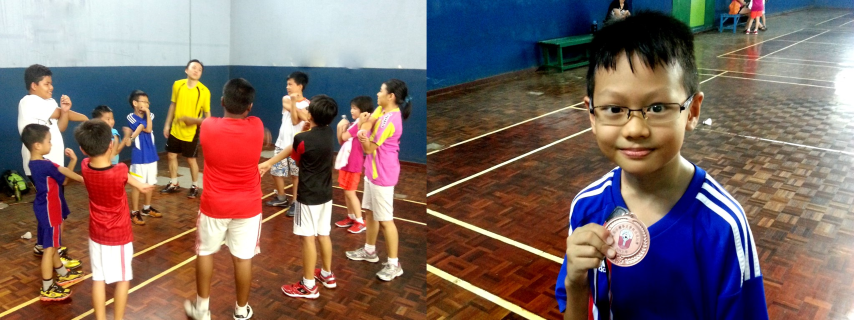 Badminton Class Student Warm Up