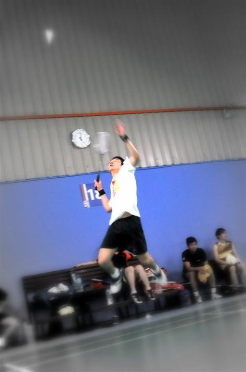 having fun at subang jaya badminton club